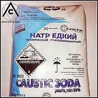 Натрий гидроксид, E524 ( ХЧ , 99,70% ) [ Россия ] заводской мешок 25 килограмм