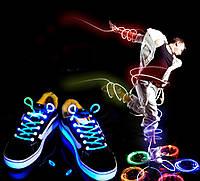 Шнурки светодиодные!
