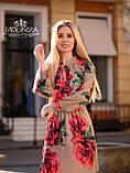 "Стильное женское платье из шелка Армани ""Romantic"" Батал, фото 6"