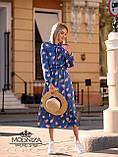 "Стильное женское платье из шелка Армани ""Romantic"" Батал, фото 7"