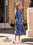 "Стильное женское платье из шелка Армани ""Romantic"" Батал, фото 8"