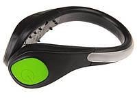 Кліпса на взуття зі світлодіодним підсвічуванням Free  Зелений