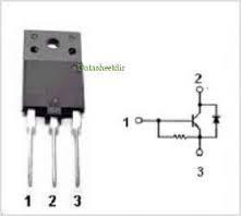 Транзистор 2SD1555 Демонтаж