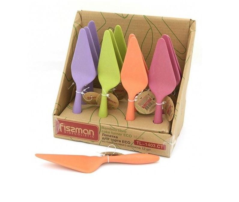 Лопатка для торта Fissman ECO бамбуковое волокно 23 см TL-1403.CT