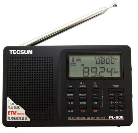 Радіоприймач TECSUN PL-606