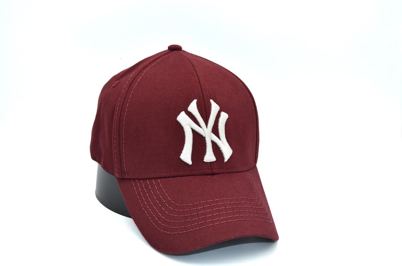 Кепка фулка Flexfit NY Yankees 56-58 см бордовая (0919-76)