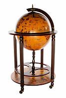 Глобус-бар напольный JUFENG d=45 см (MG45003RR)