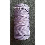 Полиэфирный шнур 5мм №17 Нежно-фиолетовый, фото 2