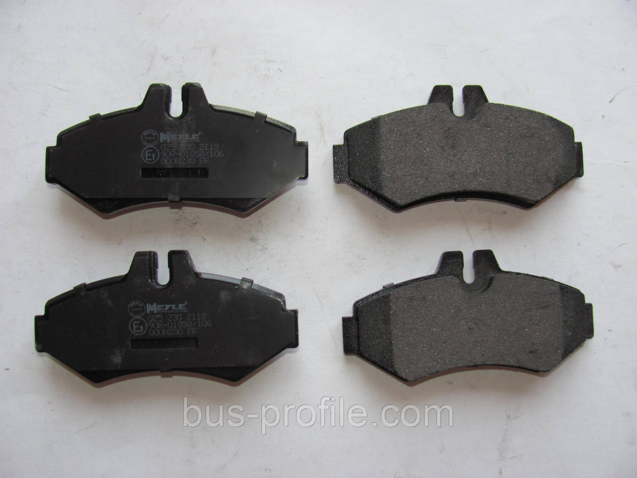 Задние колодки (без молоточков) на MB Sprinter 308-316, VW LT 35 1996-2006 — Meyle (Германия) — 0252302118