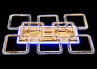 Люстра  светодиодная MX2518-6+2L FG золото, фото 1