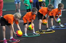 Детские игры для спорта и отдыха.