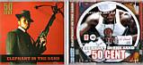Музичний сд диск 50 CENT Elephant in the sand (2008) (audio cd), фото 2