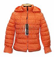 Куртка для девочки на тонком холлофайбере