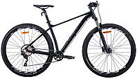 """Велосипед горный 29"""" Leon TN-60 2020 (рама 17"""", черный)"""