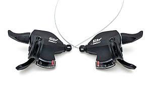 Манетки переключения скоростей L-TWOO A5 SL-V4009, комплект (3х9 скоростей)