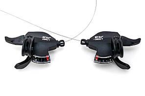 Манетки переключения скоростейL-TWOO A3 SL-V4008, комплект (3х8 скоростей)