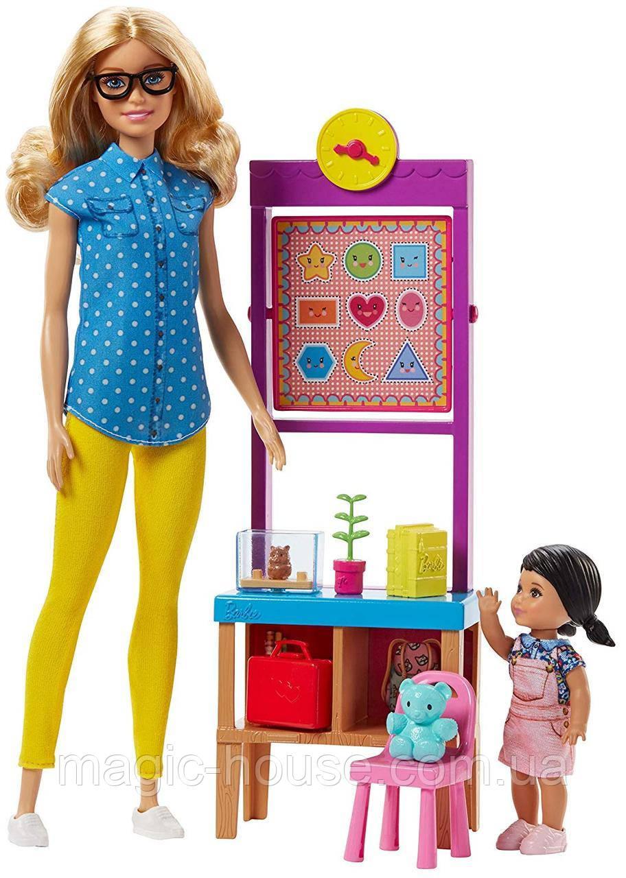 Лялька Barbie Вчитель Careers Teacher Doll Playset