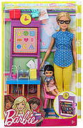 Лялька Barbie Вчитель Careers Teacher Doll Playset, фото 3