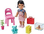 Лялька Barbie Вчитель Careers Teacher Doll Playset, фото 5