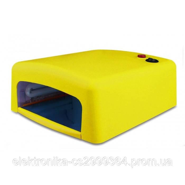 УФ лампа для наращивания ногтей на 36 Вт Жёлтая