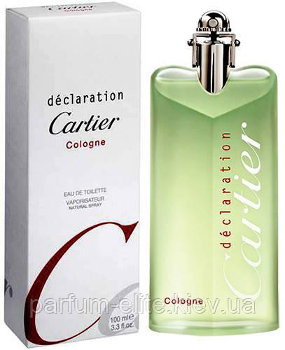 Мужской одеколон Cartier Declaration Cologne 100ml(tester)