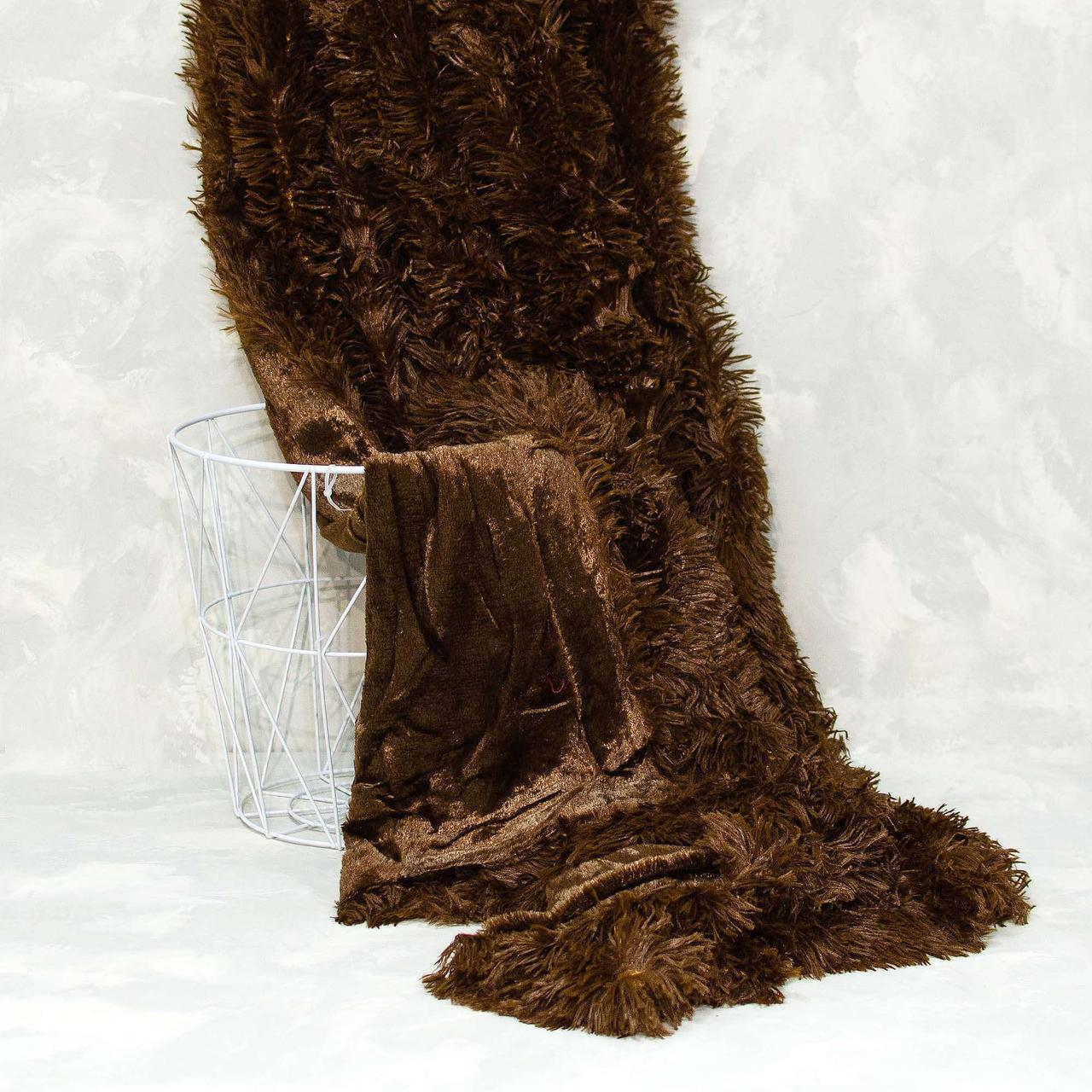 Плед-покрывало Viluta меховый Травка