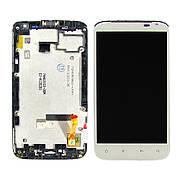 Дисплей для HTC X315e Sensation XL с белым тачскрином
