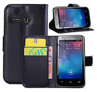 Чехол-бумажник для Alcatel One Touch M'Pop 5020D