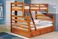 """Двох'ярусне ліжко """"Тім"""""""