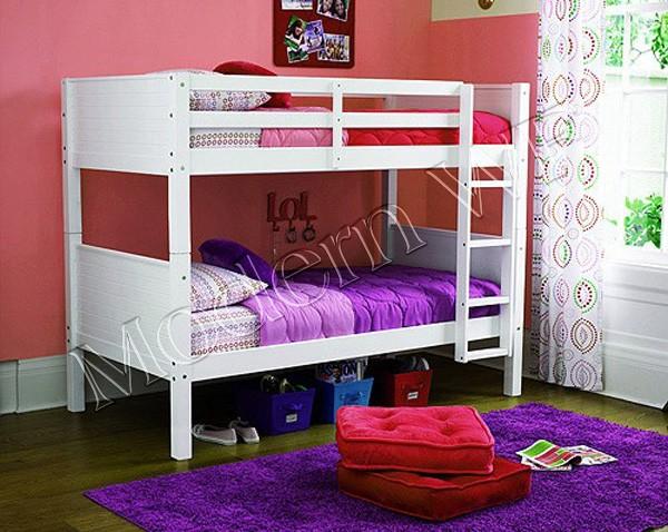 """Двохярусне ліжко """"Тауэр"""" з массиву дерева"""