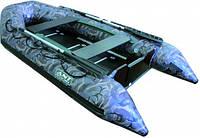 Моторная килевая надувная лодка Voyager 290 камуфляж