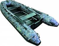 Моторная килевая надувная лодка Sprinter 350 камуфляж