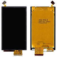 Дисплейный модуль (дисплей + сенсор) для Sony Ericsson U10, оригинал