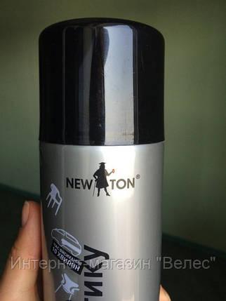 Эмаль для пластика Newton Чёрная 400мл RAL 9005, фото 2