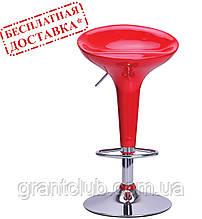 Стул барный LILY красный пластик AMF (бесплатная адресная доставка)