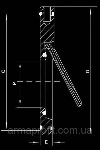 Клапан обратный TCV-16