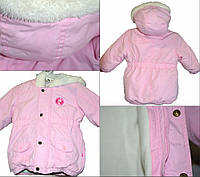 6-9м куртка рожева Еrgee