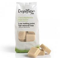 Воск горячий для депиляции Воск - Хлопок EXTRA, Depilflax + сертификат