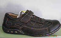 Туфли для мальчика кожаные в спортивном стиле, 29-34