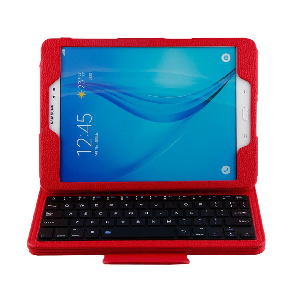 Чехол клавиатура Bluetooth для планшета Samsung Galaxy Tab A 9.7 T550 T551 красный