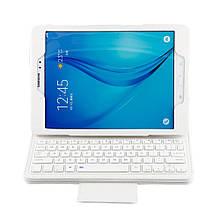 Чехол клавиатура Bluetooth для планшета Samsung Galaxy Tab A 9.7 T550 T551 белый