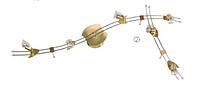 Потолочный светильник Linea Verdace LV 2791102/KM