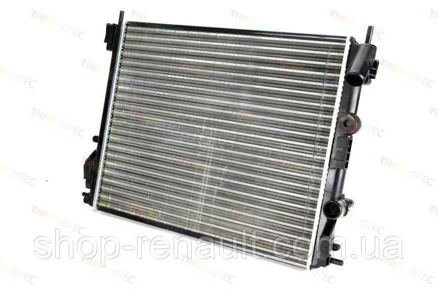 Радиатор  охлаждения (с кондиц.) Logan/MCV/Sandero 1.4/1.6 до 2008г. QSP-M