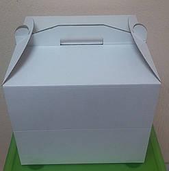 Картонна Коробка для торта, розмір 35х35х35 см