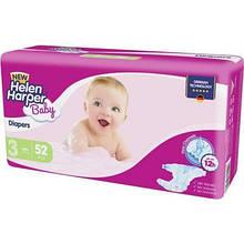 Подгузник Helen Harper Baby NEW Midi (4-9 kg), 52 шт. (5411416030676)