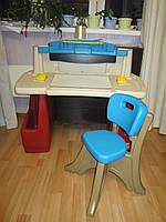 Детский стол парта Step2 Deluxe Art Master Desk США , фото 1