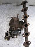 Турбина Garret 466016-2 б/у на BMW 5 (E28) 2.5TD год 1983-1987, фото 3