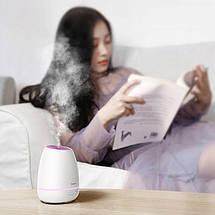 Увлажнитель-ароматизатор воздуха Baseus Creamy-white Aroma Diffuser ACXUN-02 (Белый), фото 3