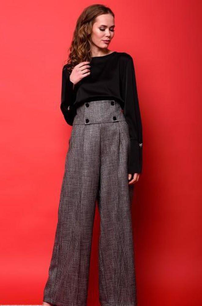 Блузка женская черная TRG 0313/960