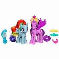 My Little Pony Игровой набор Твайлайт Спаркл и Радуга Рейнбоу Дэш Princess Twilight Sparkle and Rainbow Dash Figures A2657